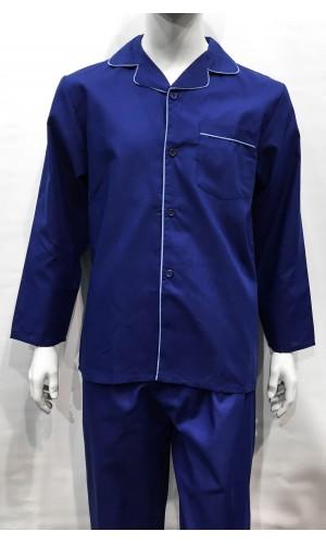 18641-Pyjama long HUTSON HARBOUR navy