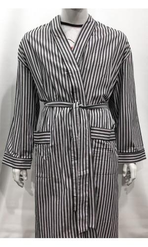 18712-Robe de chambre MAJESTIC black strip