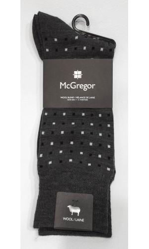 18754-Bas McGregor à motif charcoal