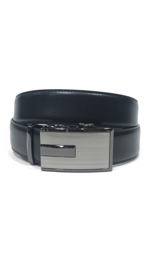 Ceinture CUSTOM LEATHER noir