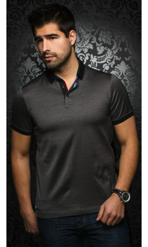 Polo AU NOIR ANDREW black