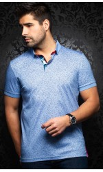Polo AU NOIR MAYFIELD light blue