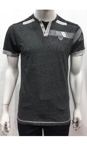 18578-T-shirt KARBUR charcoal
