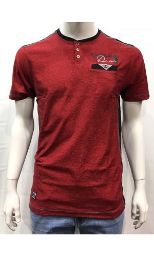 18577-T-shirt KARBUR rouge
