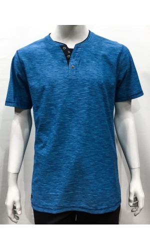18694-T-Shirts M/C PRIVATE MEMBER turquoise