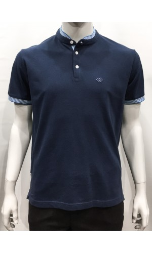 18697-T-Shirts M/C PRIVATE MEMBER denim