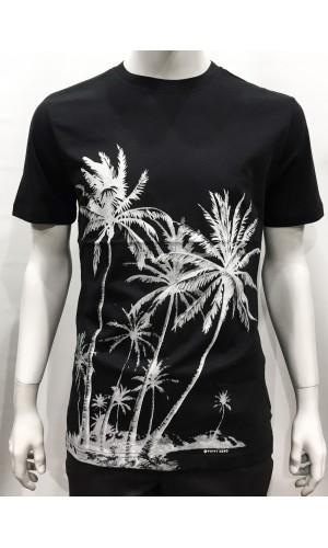 18815-T-shirt POINT ZERO black