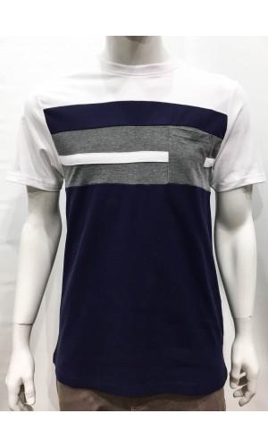 18837-T-shirt SOUL OF LONDON navy