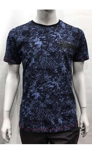 18850-T-shirt PROJEK marine