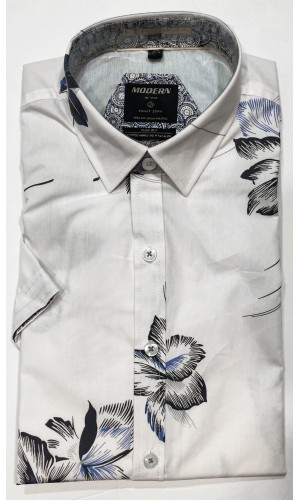 Chemise POINT ZERO optic/white