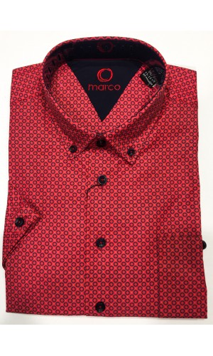 18582-Chemise MARCO rouge