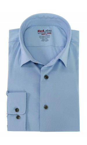 Chemise habillée LEO CHEVALIER RED LABEL twilight blue