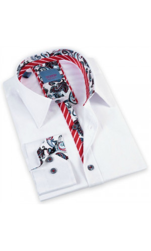 Chemise SCOOP LUCA blanche