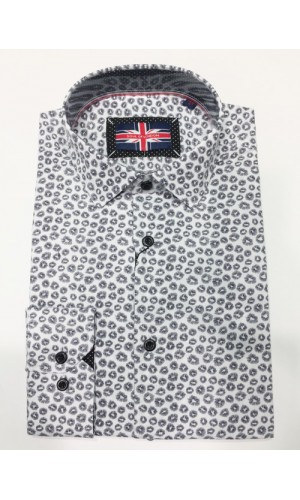 Chemise sport  SOUL of LONDON black