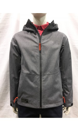 Manteau softshell POINT ZERO charcoal