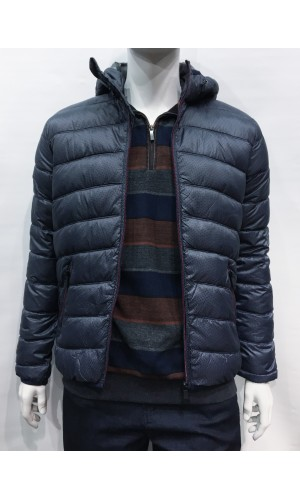 Manteau ultra-léger POINT ZERO navy
