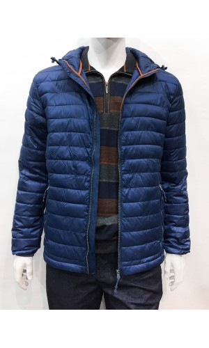 Manteau ultra-léger PRIVATE MEMBER bleu