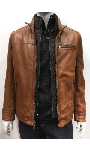 Manteau REGENCY cognac
