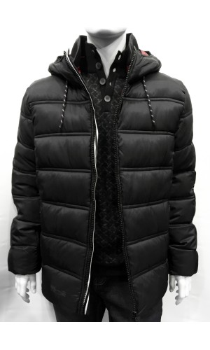 Manteau matelassé POINT ZERO noir