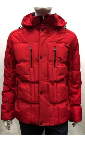 Manteau CRUZE COLLECTION rouge