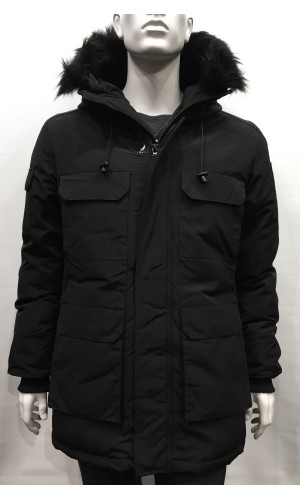 Manteau DIAMOND TRIAL noir