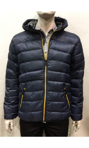 Manteau ultra-léger POINT ZERO  bleu marine