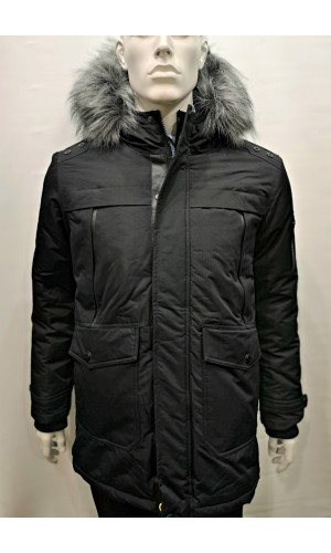 18419 Manteau POINT ZERO noir