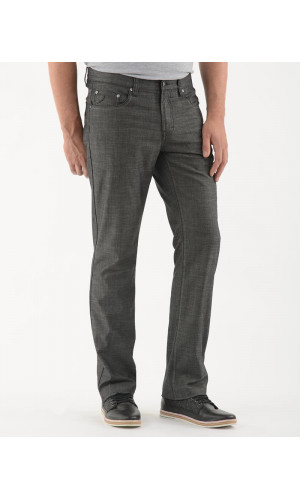 Pantalon sport LOIS extensible couleur gris