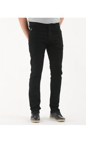 Pantalon sport LOIS extensible couleur noir