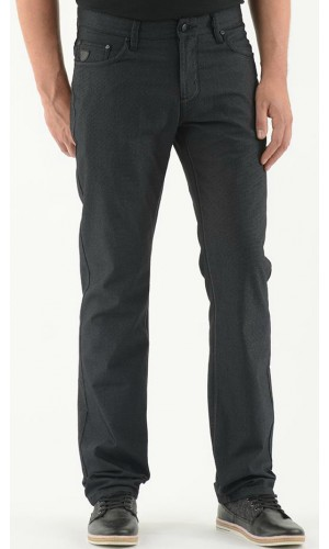Pantalon sport LOIS extensible couleur charcoal