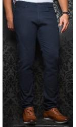 Pantalon sport extensible AU NOIR marine