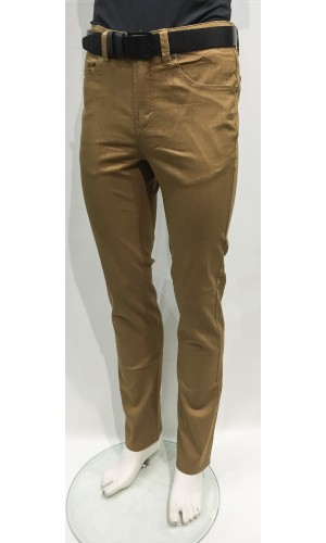 18042-Pantalon LOIS extensible couleur wheat