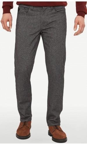 18890-Pantalon LOIS extensible couleur charcoal