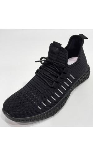 18667-Souliers sneakers OZZAZ noir/gris